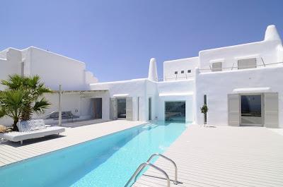 სახლი ეგეოსის ზღვაზე - Летний дом на острове Парос