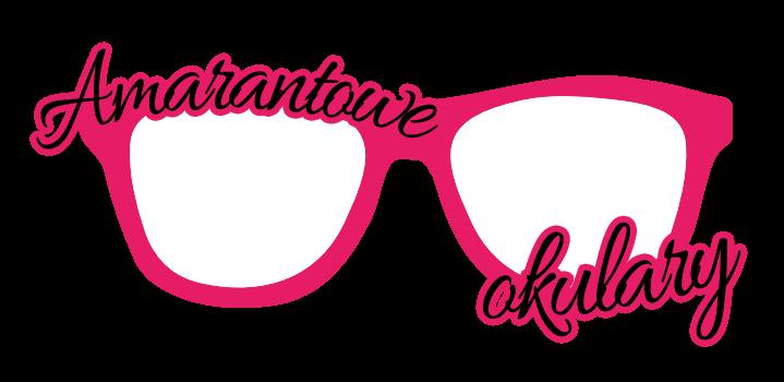 Amarantowe okulary