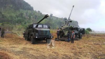 Video Tembakan Perdana Meriam Caesar TNI AD