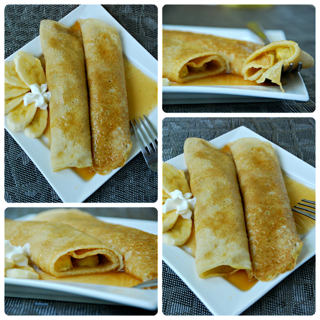 Bananas Foster Crepes - Will Cook For Smiles