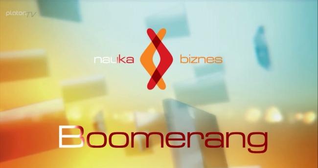 Logo inicjatywy Boomerang