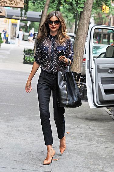 Blog Da Andrea Rudge Street Style Miranda Kerr