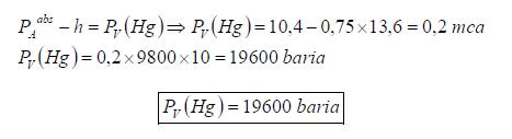 Ejercicio resuelto de estatica de fluidos manometro y vacuometro formula 4 problema 3