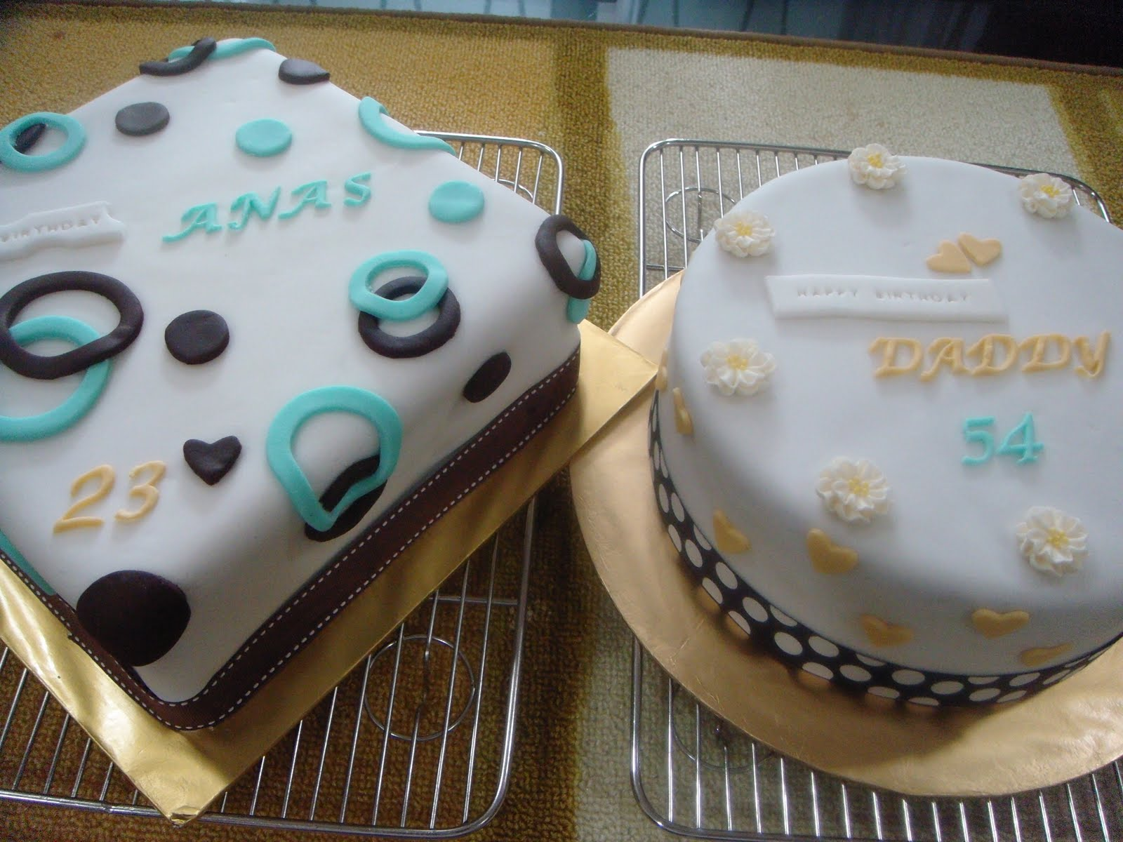 Birthday Cakes For Father And Son Got Cookies