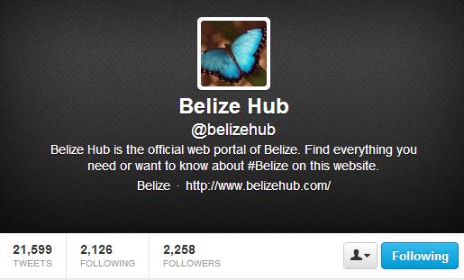 Belize Hub Twitter