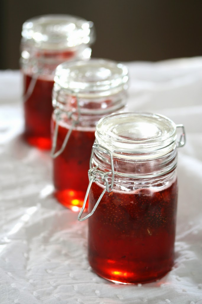 Lemony Strawberry Thyme Jam Recipe