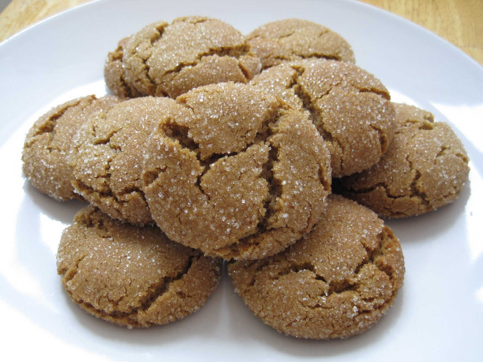 Live to Eat? Eat to Live?: Chewy Ginger Cookies