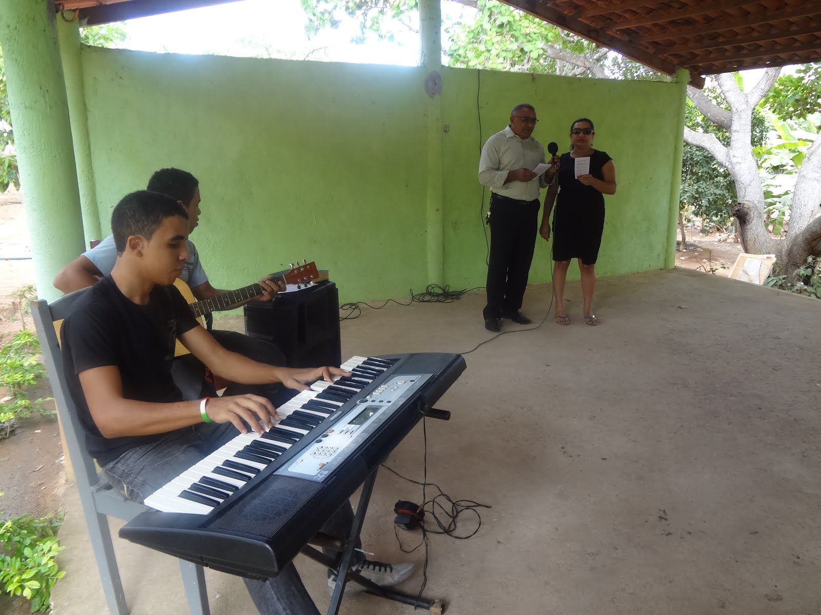 Culto do batismo 2015