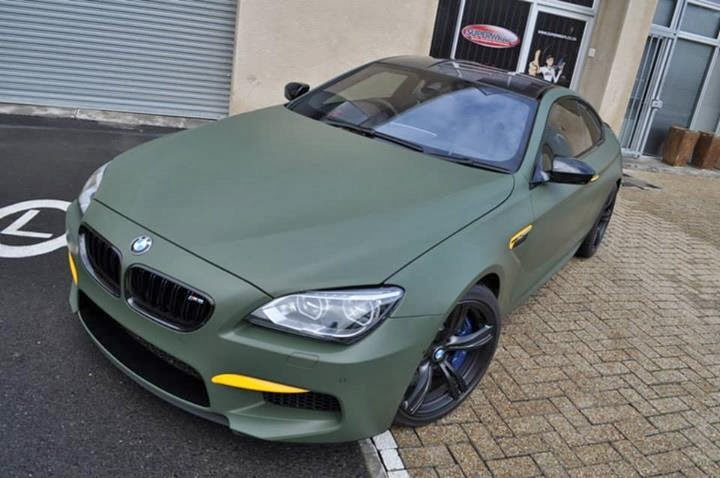 2013 Bmw M6 Turned Into Military Bomber In South Africa