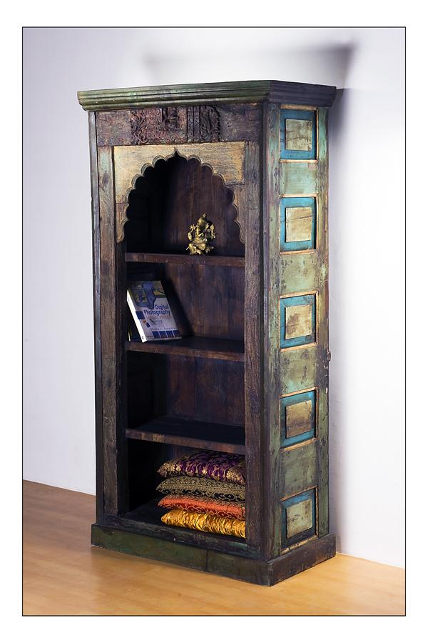 Jodhpur Furniture Reclaimed Upcycled Bookcase