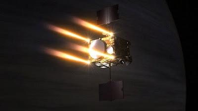 5 años después la sonda Akatsuki llega a Venus