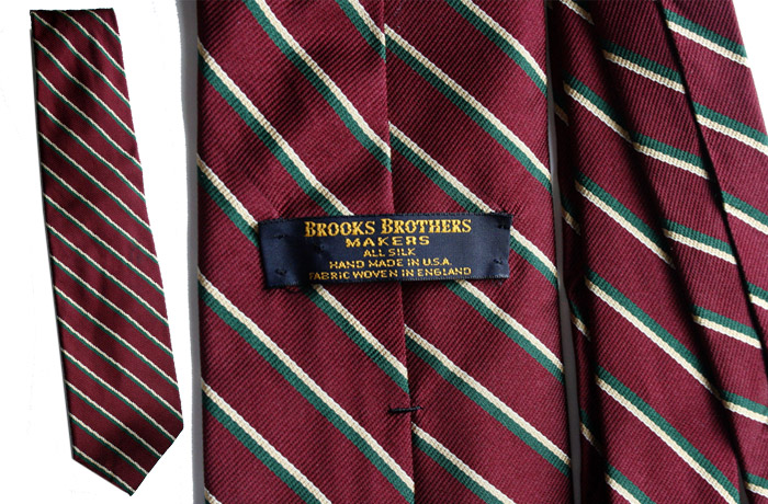 Brooks Brothers burgundy