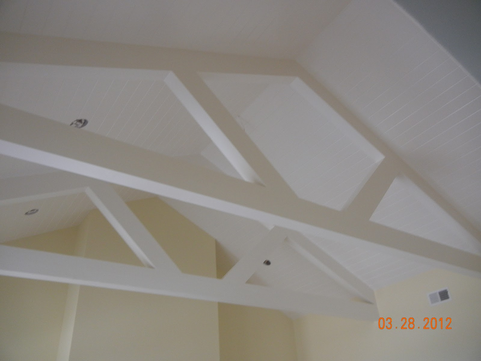 How to put a light fixture on truss 2015 home design ideas for Exposed roof truss design