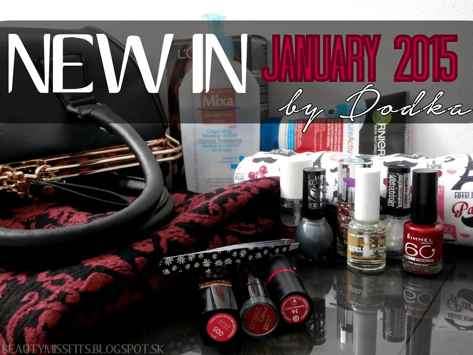 NEW IN - Január 2015 (by Dodka)