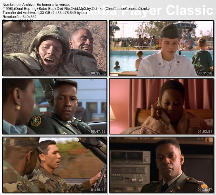 Imagenes de la pelicula;En honor a la verdad | 1996 | Courage Under Fire