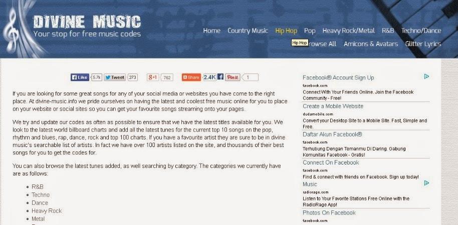 Musik Di Blog
