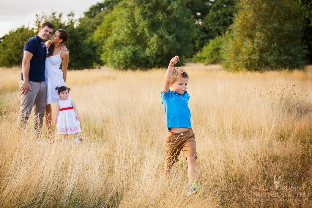 Family shoot on location in London