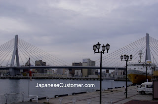 View of Aomori city, Japan copyright peter hanami 2010