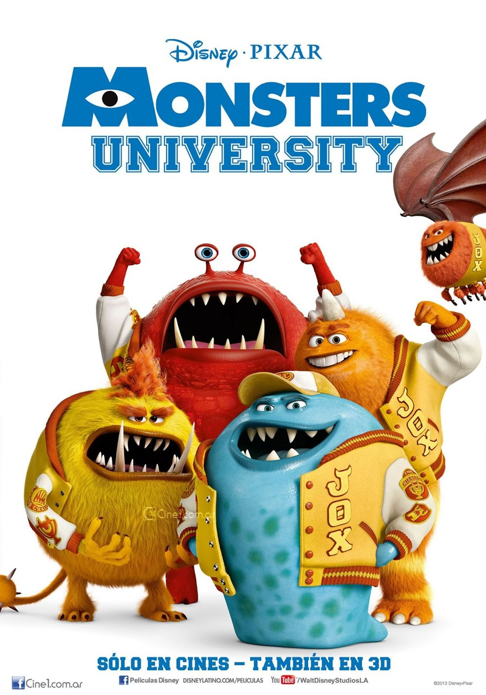 A113animation new monsters university posters and mothers day spot as such the promotion is in full swing not something sadly we can say about disneys frozen today we get three new international posters and a nice voltagebd Images