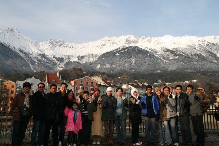 perjalanan kami ke austria