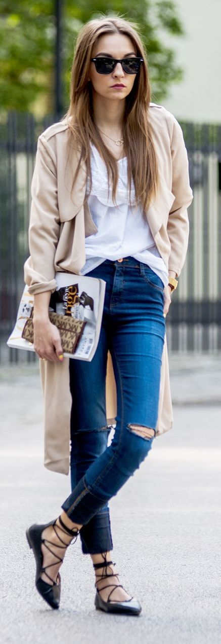 Sabrinas com atilhos, sapatilhas, bailarinas moda 2015