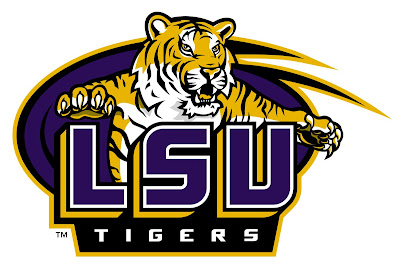 LSU Logo Tigers