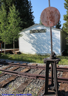 Breckenridge, Colorado, history, railroad, trains, park, museum, Summit County, genealogy, family history