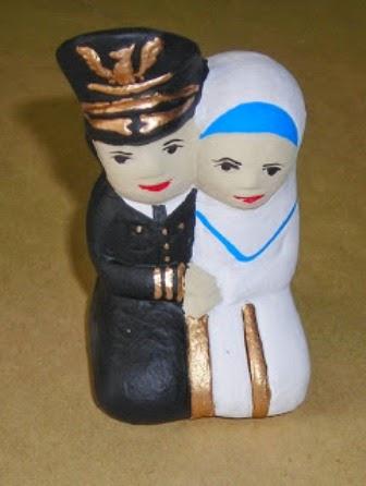 Souvenir Boneka Pilot-Jilbab