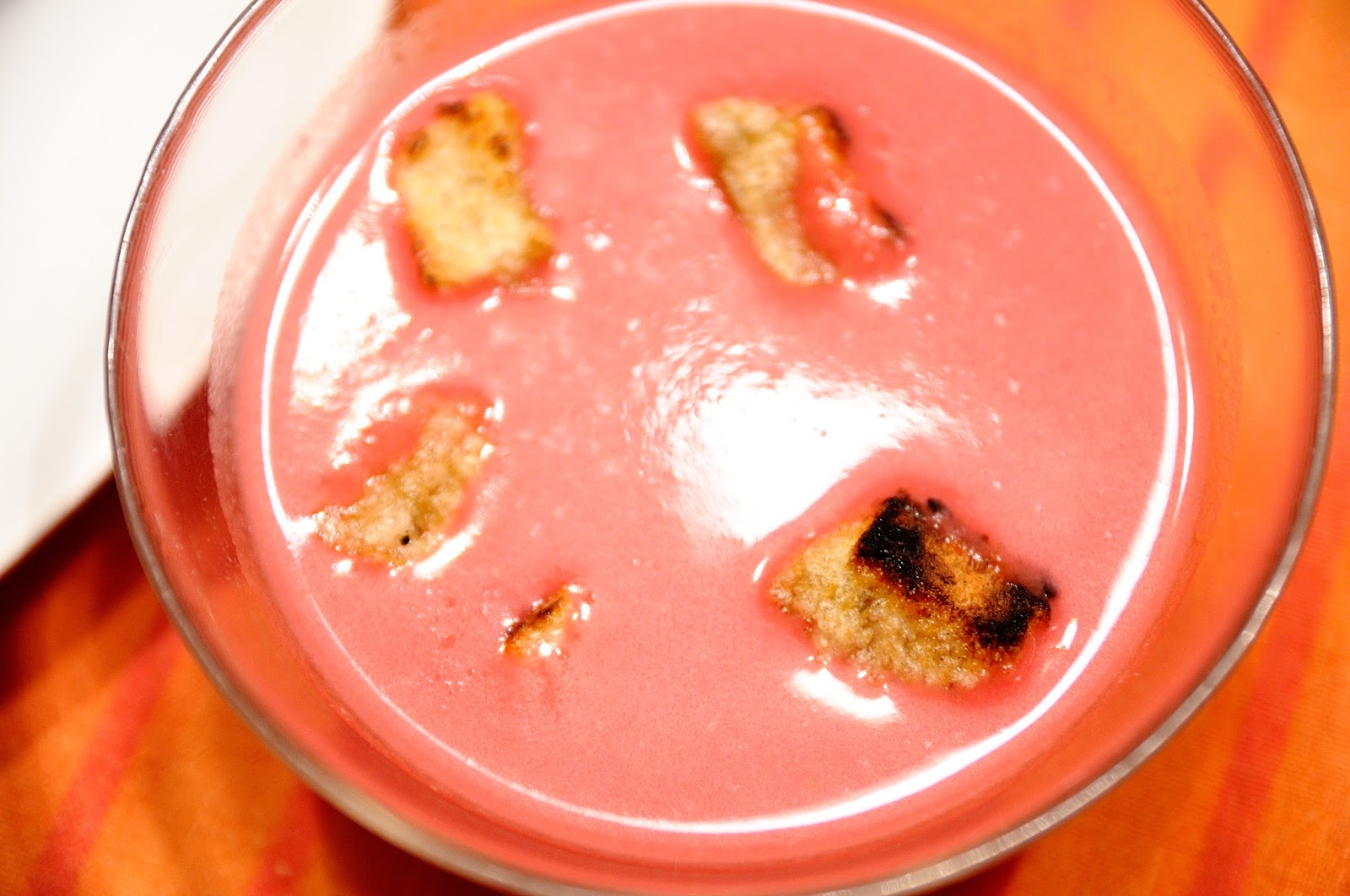 Crema de mel n y remolacha cocinar para nutrir for Cocinar remolacha
