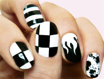 Latest Nail Art Designs 2013 2014 Free Download Wallpaper