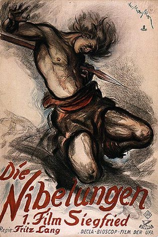 Siegfried's Death 1924 poster