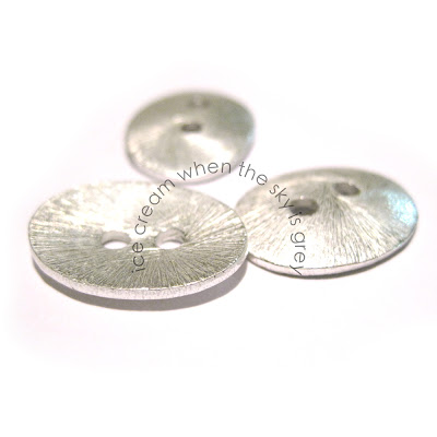 Sterling Silver Plated Buttons (Chan Luu Style), Beads Of Cambay Discount Coupon Code - DIY Product Review