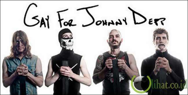 Gay for Johnny Depp