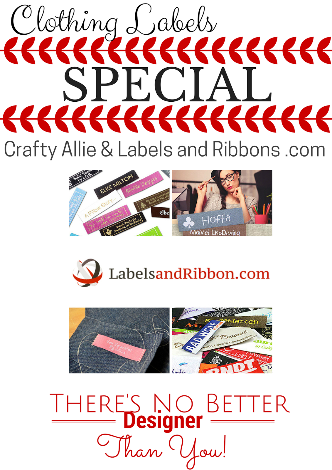 Create Your Own Custom Labels To Finalize Your Handmade