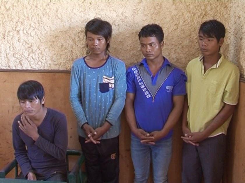 Gia Lai: Bắt nhóm đối tượng cướp xe máy người đi đường