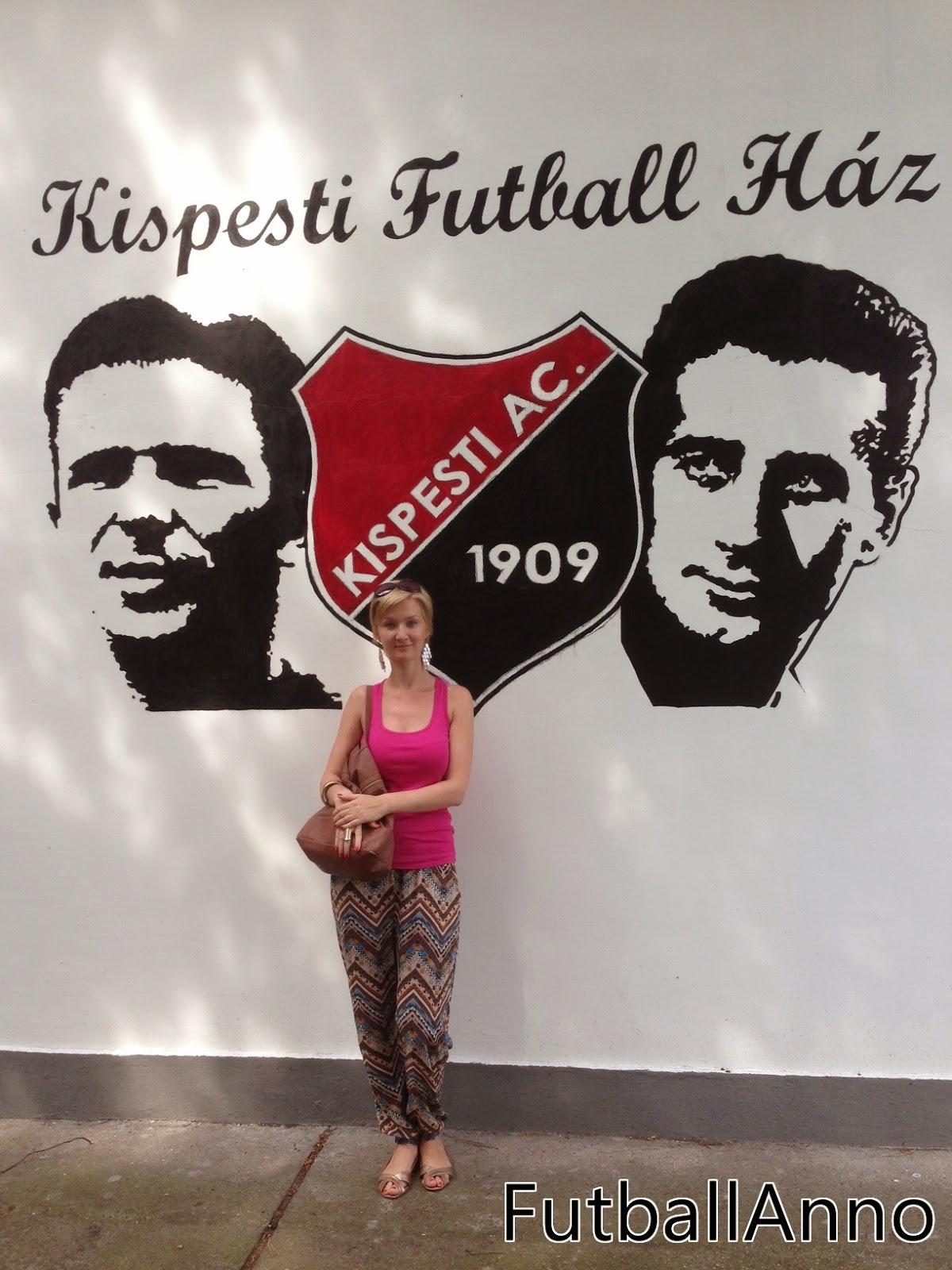 FUTBALL ANNO A Kispesti Futball Házban jártam