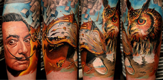 tattoos by dmitriy samohin 3 #tattoofriday   Dmitriy Samohin