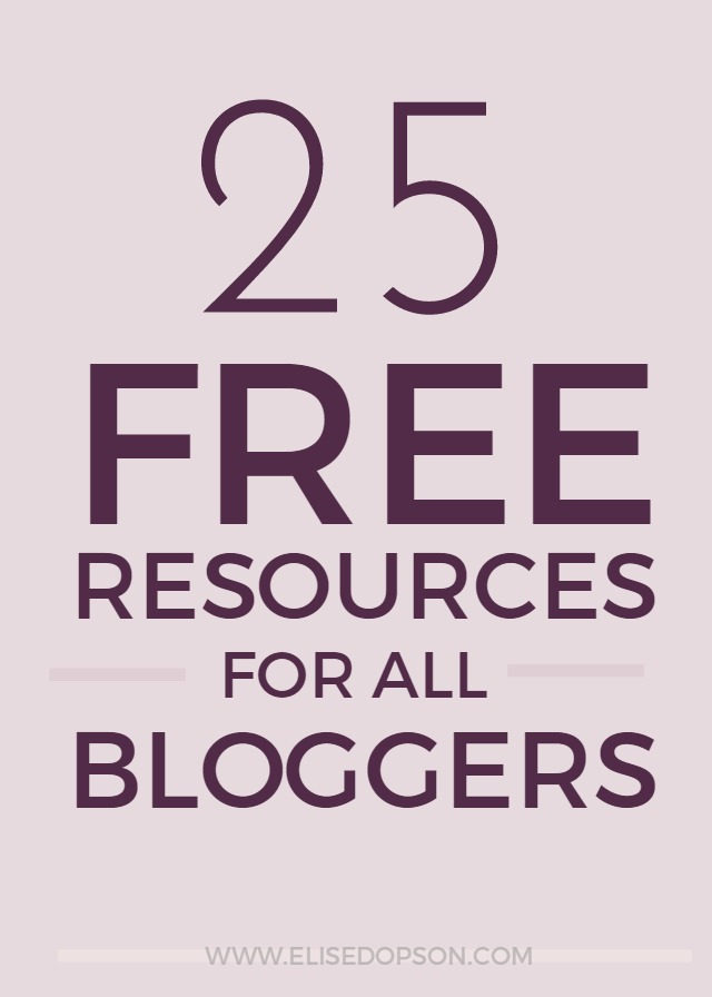 free blog resources, freebies, free download, blogging tips
