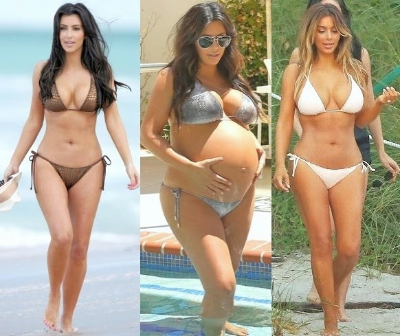 chatter busy kim kardashian extreme weight loss plastic surgery