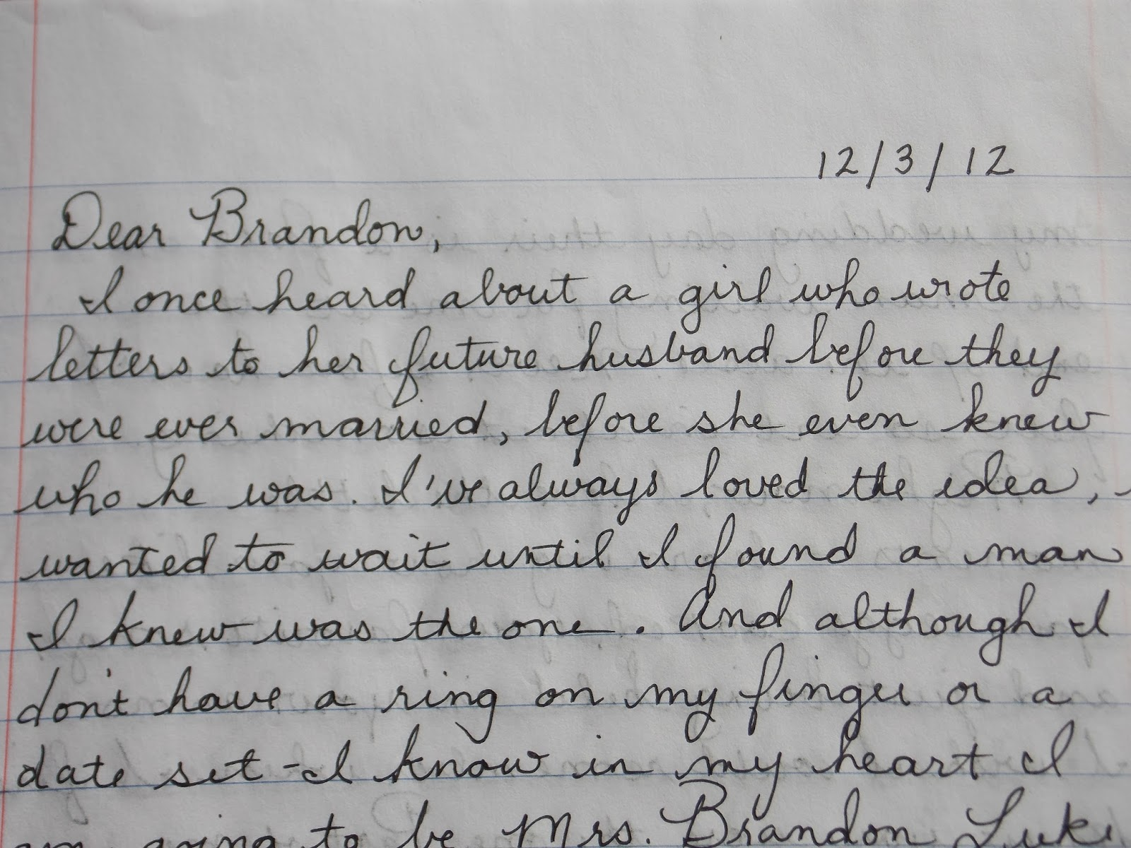 Between the Lines: Letters to My Husband