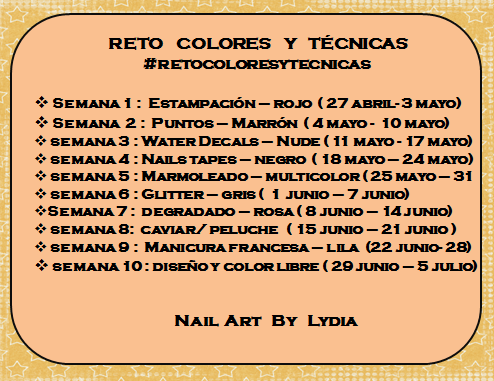 Reto Colores y Técnicas