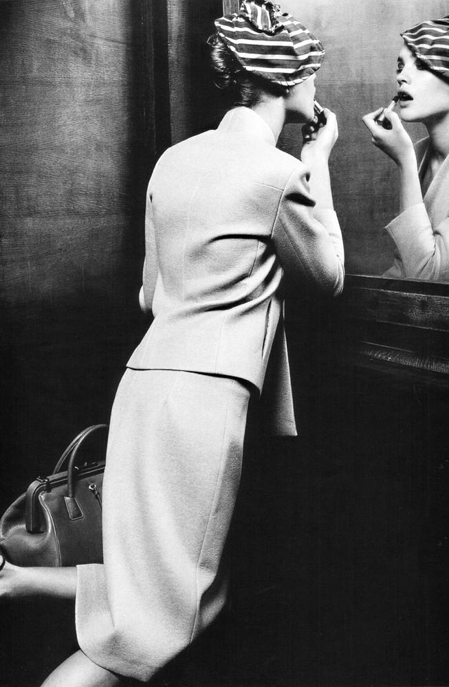 via fashioned by love | Natalia Vodianova in Belle de Nuit | Marie Claire Australia March 2001 (photography: Friedmann Hauss)