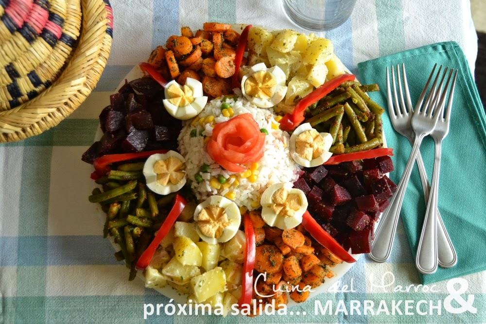 Ensalada variada marroquí