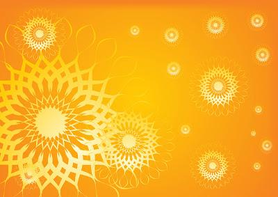 summer glow yellow design