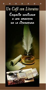 """Tríptico de """"Un Café con Literatos"""""""