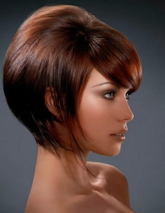Модное окрашивание волос коротких