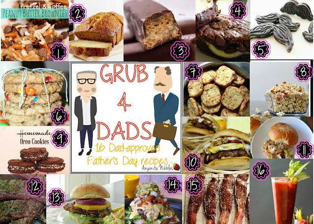 Grub for Dads 16 Dad-Approved Father's Day Recipes