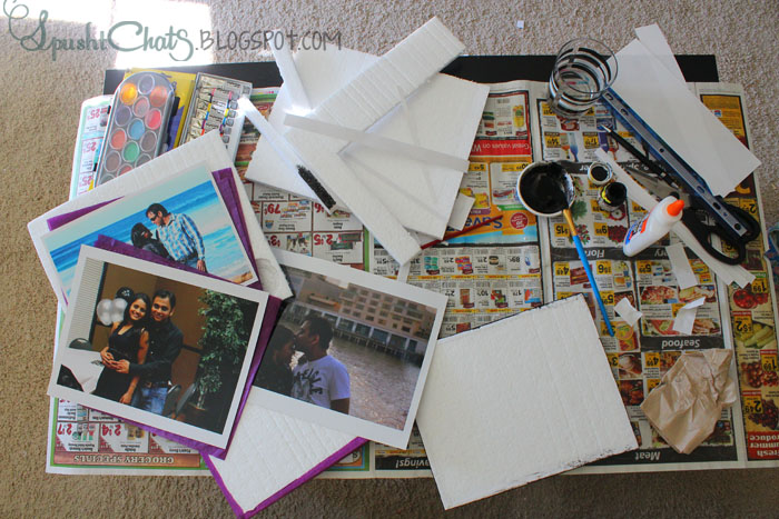SpushtChats | Home decor using Styrofoam sheets