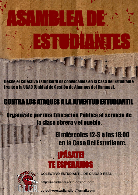 ASAMBLEA ESTUDIANTIL