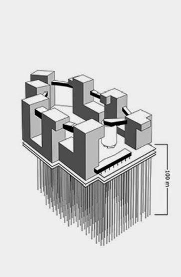 Pozos geotérmicos para la calefacción y refrigeración